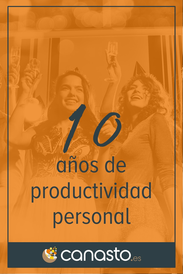 10 años de productividad personal