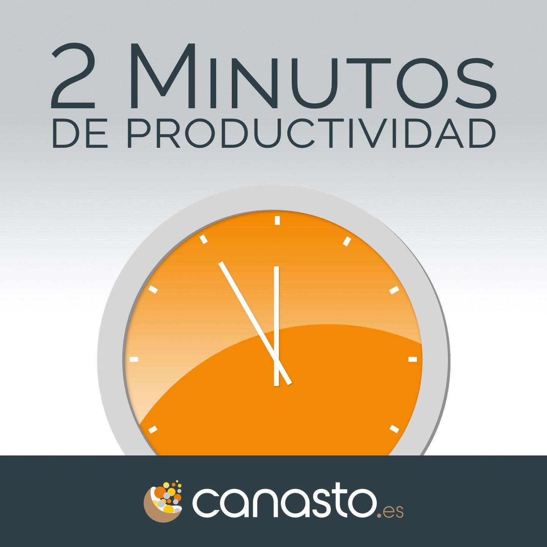 2 Minutos de productividad