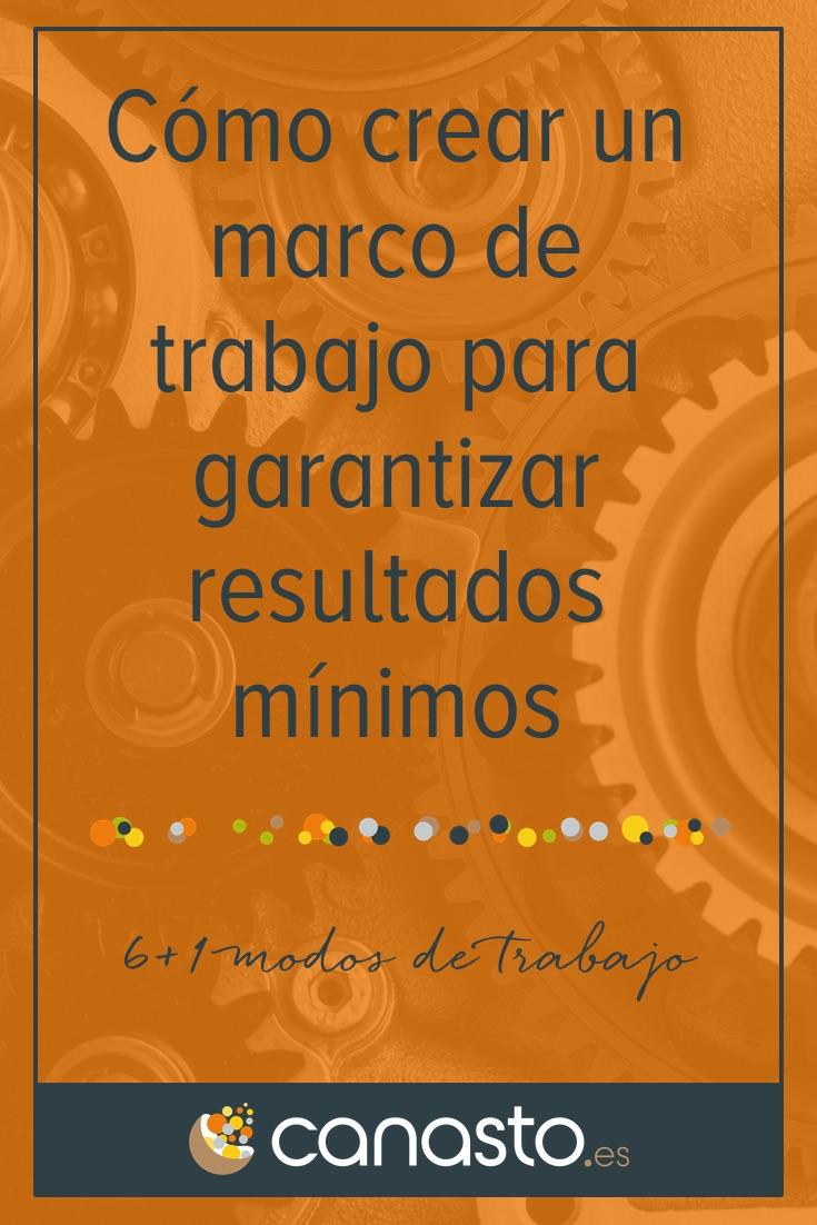 Cómo crear un marco de trabajo para garantizar resultados mínimos