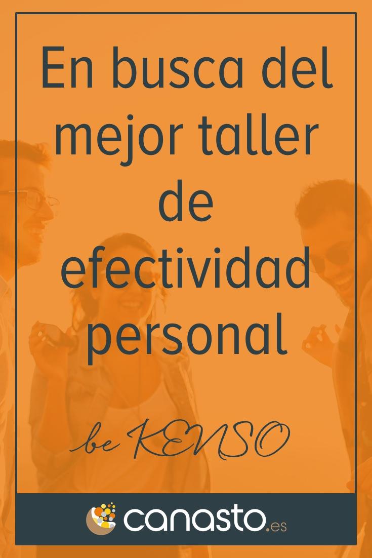En busca del mejor taller de efectividad personal