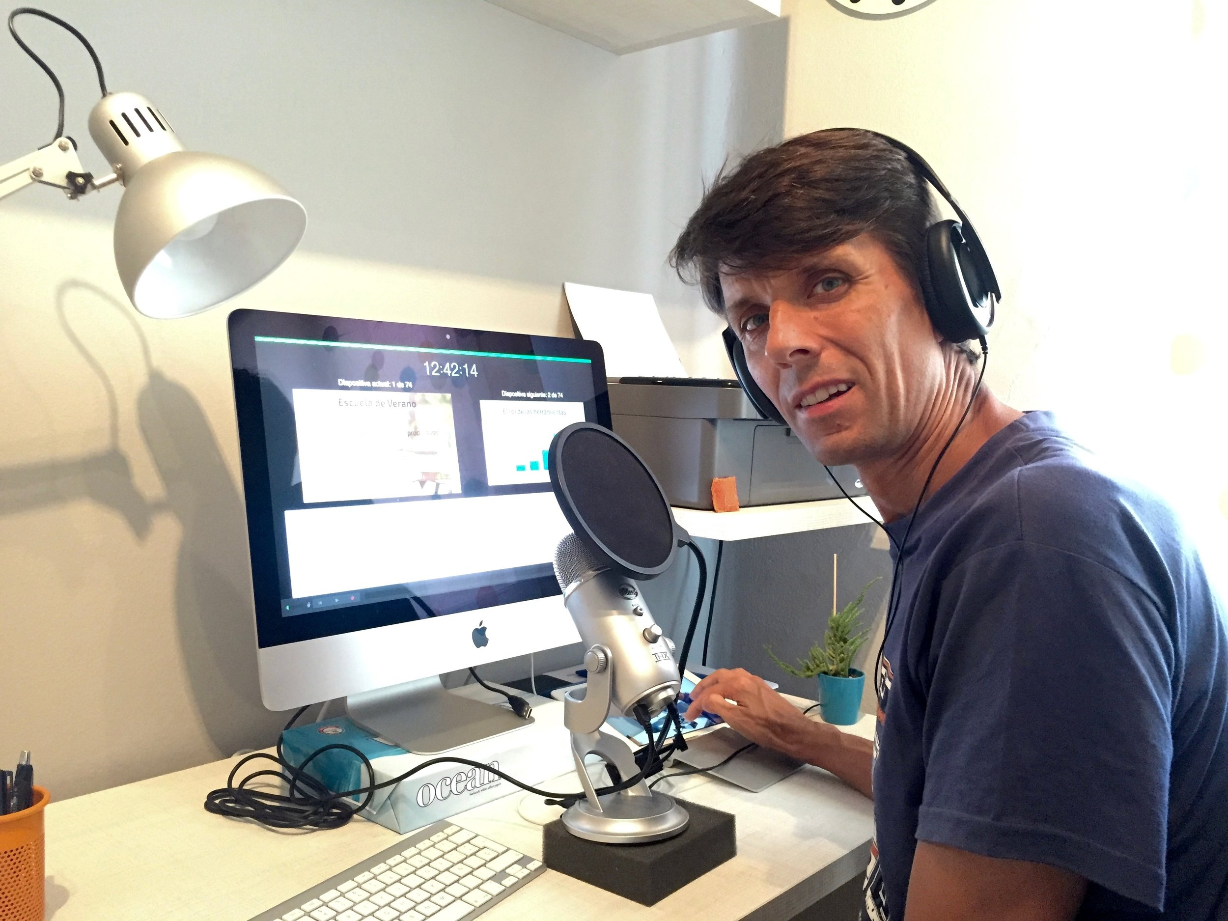 Grabando audio en el iMac