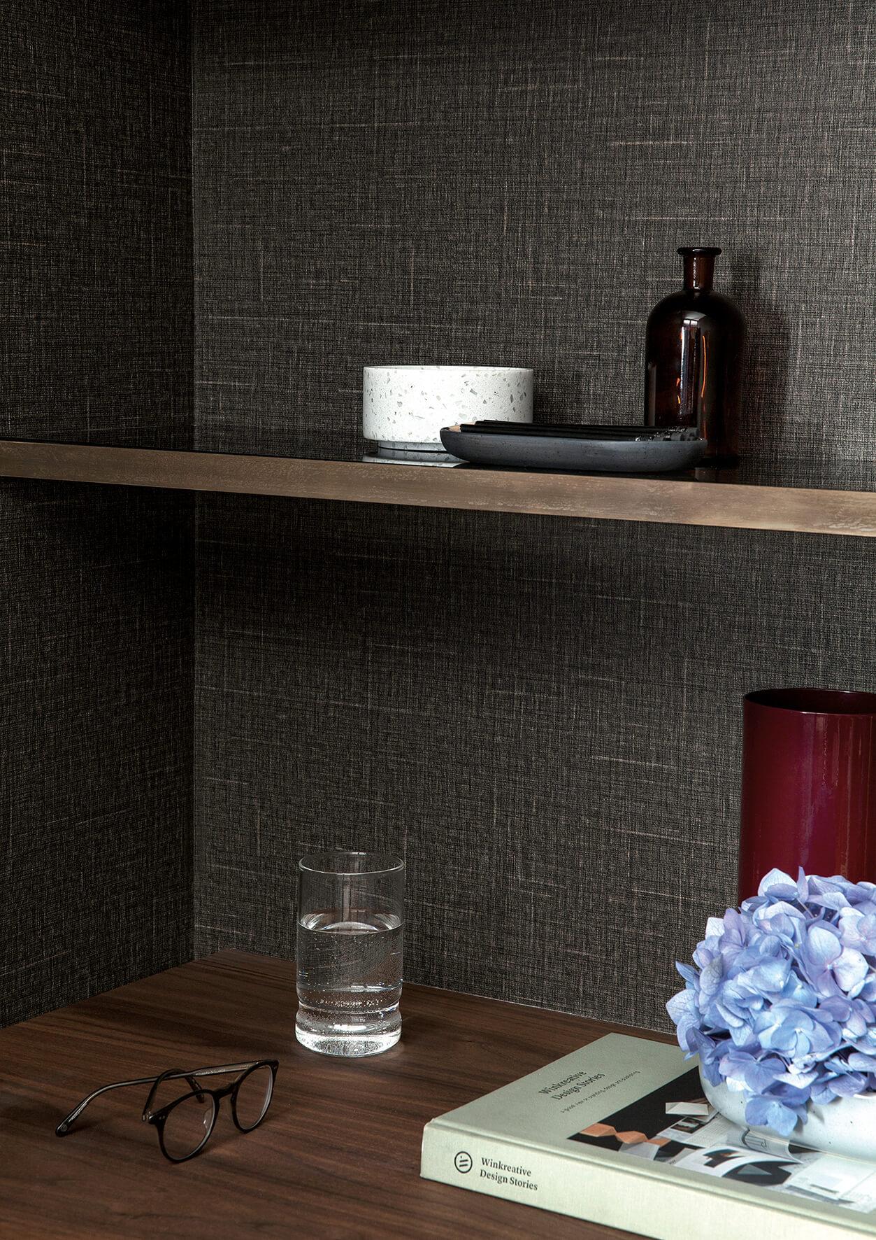 Japanese Linen Wallpaper - View 6 styles