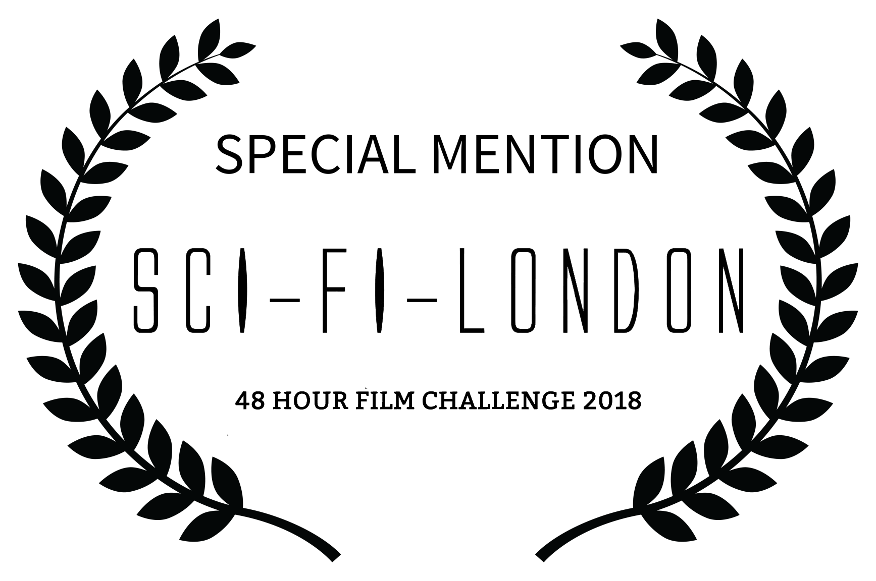 SPECIAL MENTION - SCI-FI LONDON - 48 HOUR FILM CHALLENGE 2018.png