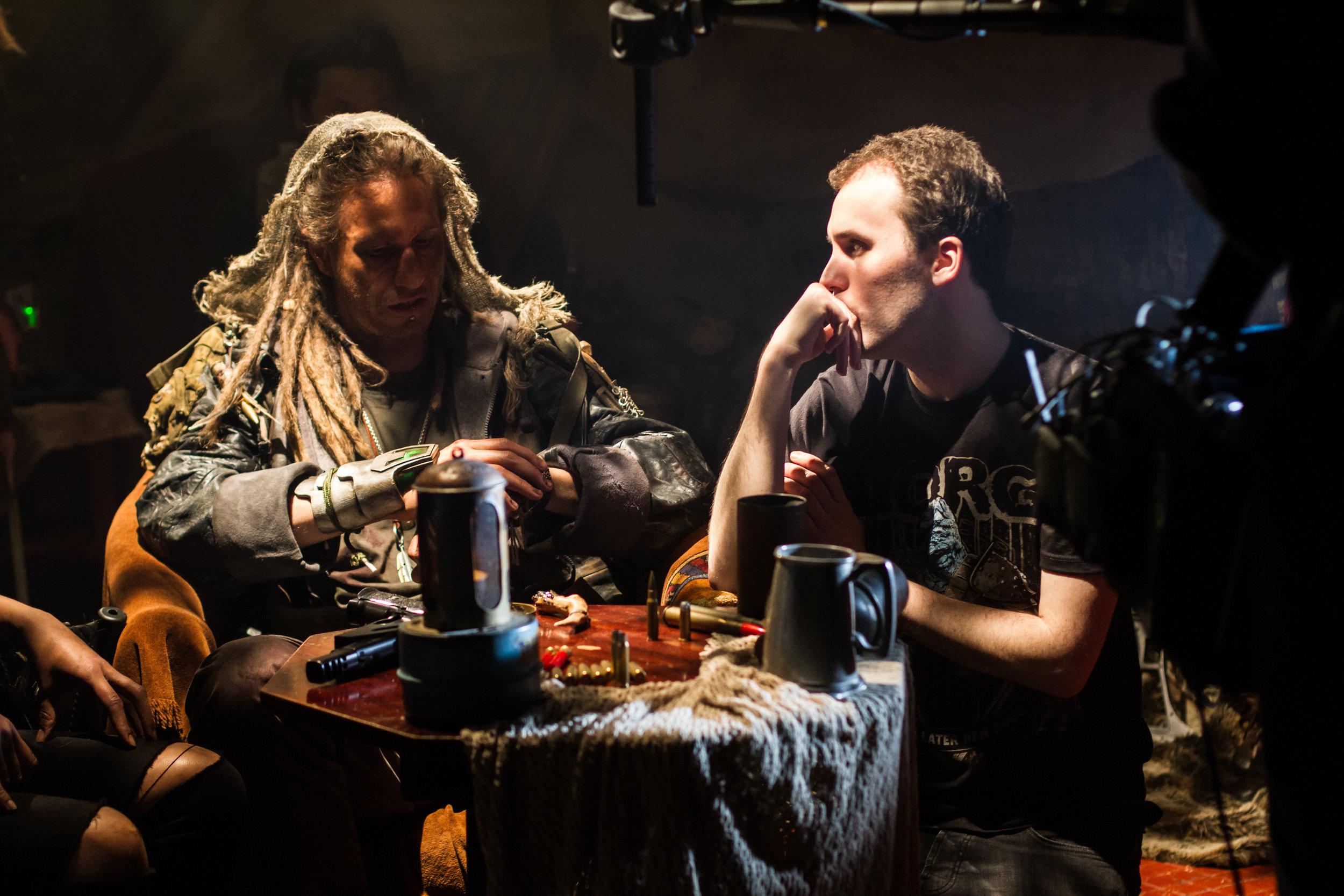 Director Christopher Bevan and actor-writer Dan McGrath.jpg