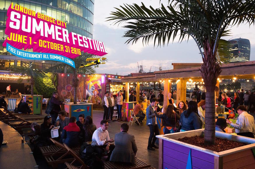 London Bridge Festival.   If you're in London over the summer, why not check out the schedule for the London Bridge festival. There are a host of events happening across the summer and there's certainly something for all the family to get involved with. Whether it's sports, music, dance, music or art you love, Come get your London look on from August to October.