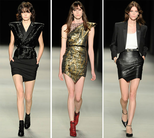 YSL, Paris Fashion Week