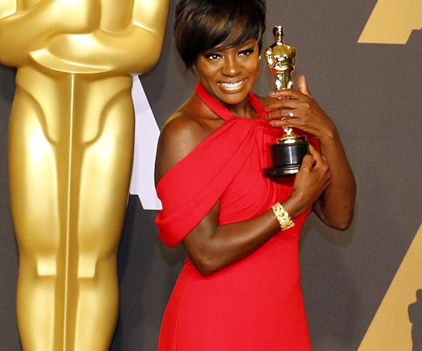 Oscar winner Viola Davis - for her role opposite Denzel Washington in the film Fences.