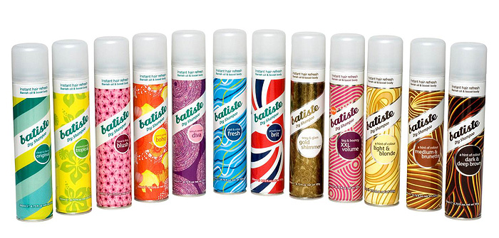 Batiste is available for all hair types, so there's something for everyone!