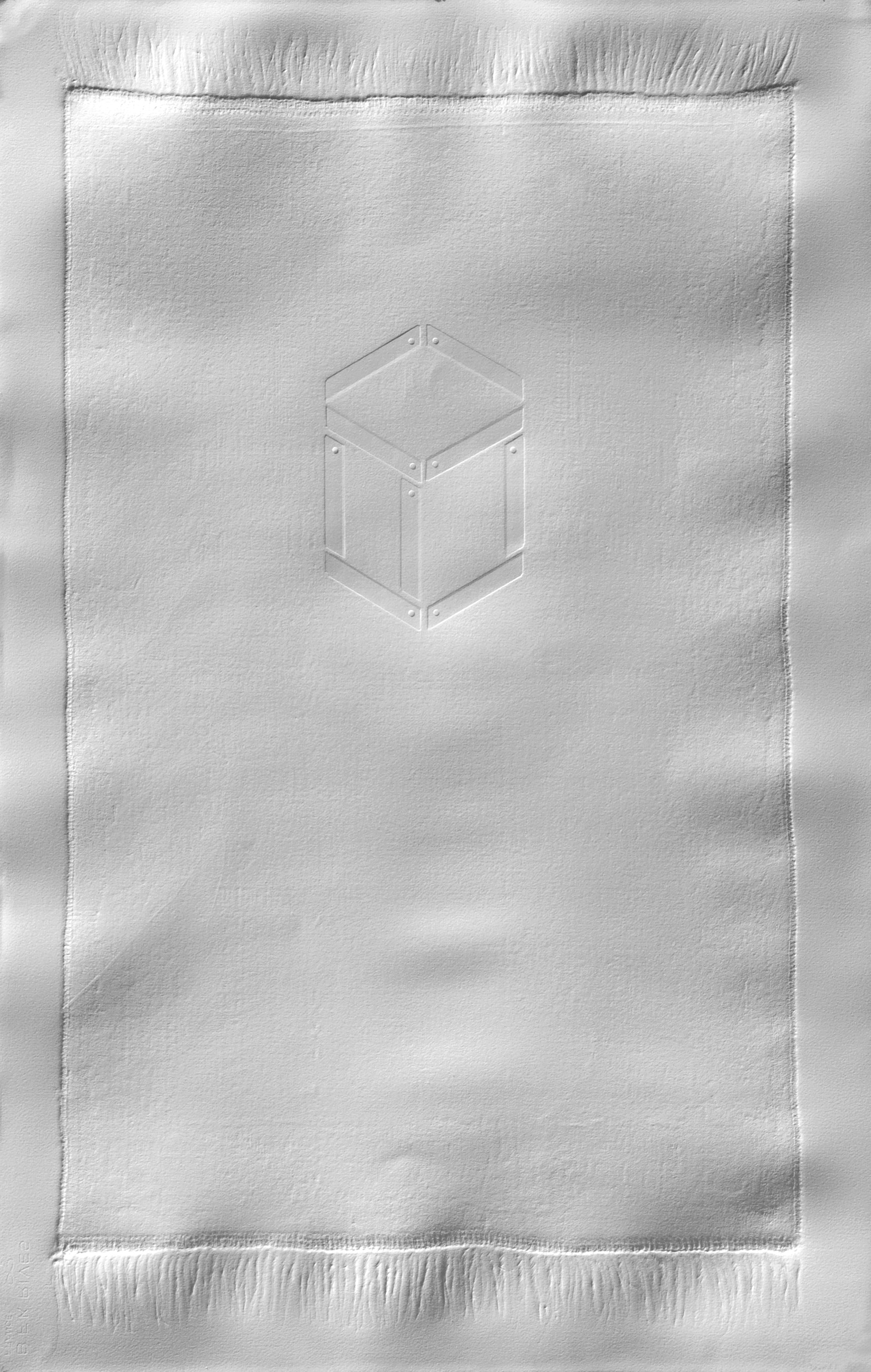 Devoid I (2009),Emboss on BFK Rives paper, 76 x 120 cm