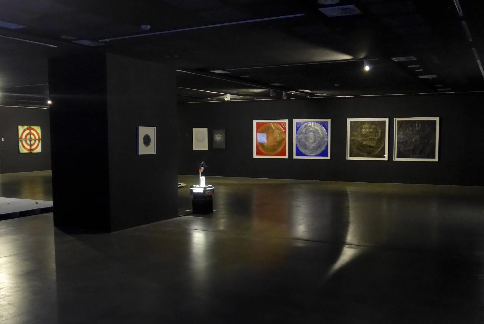Installation view of  A Balancing Act  series - UNSW Galleries, Sydney