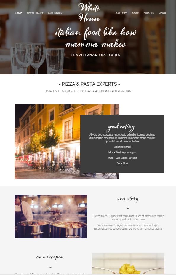 Resturant Website Designer Somerset Devon Dorset