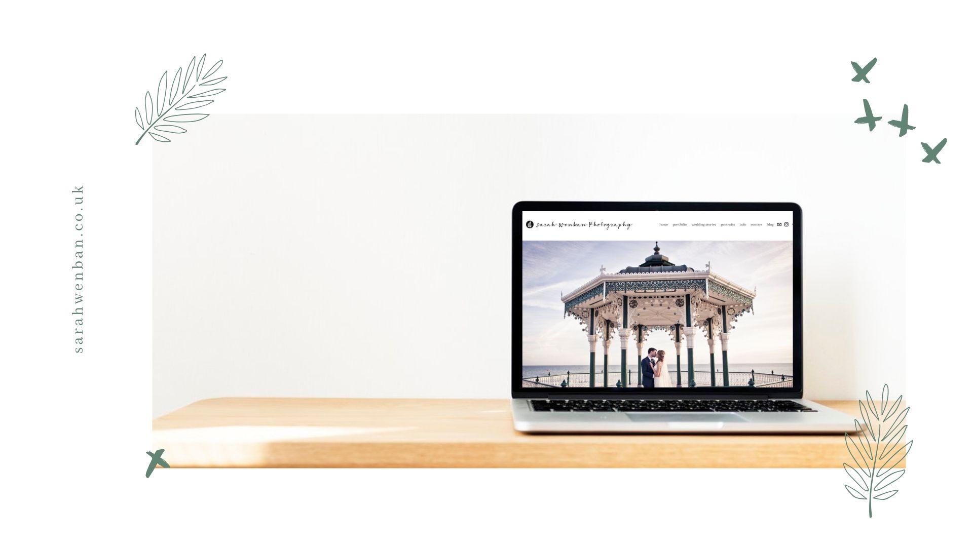 Sarah Wenban Website Design SEO  - Blanco Digital Studio