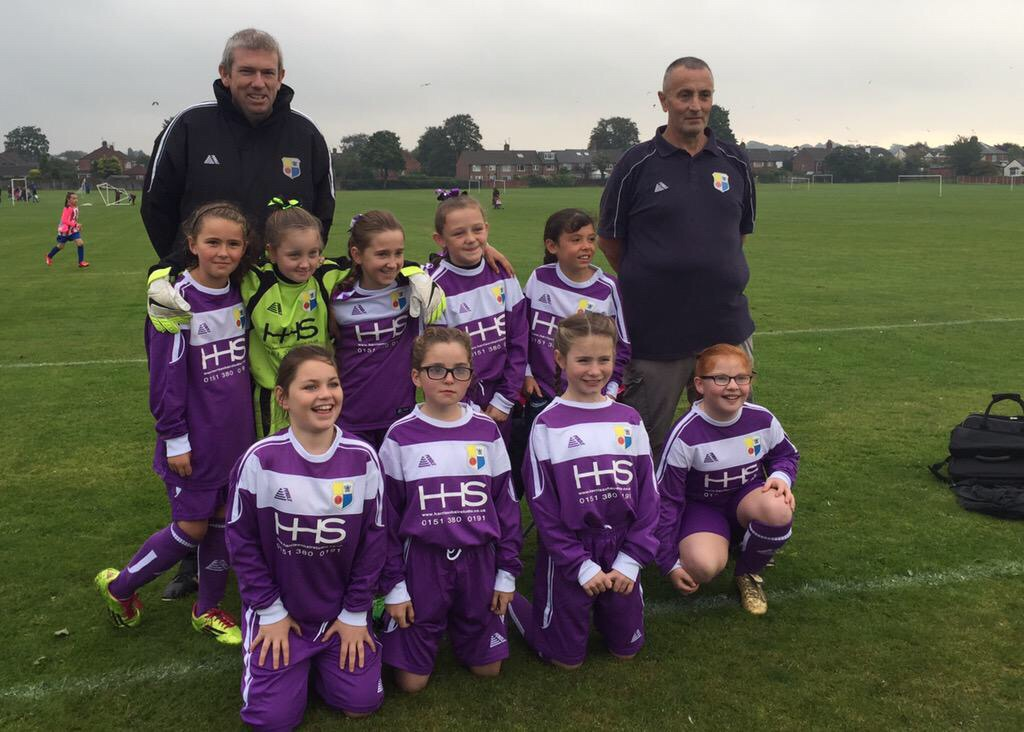 HHS Merseyrail Bootle Girls u10's