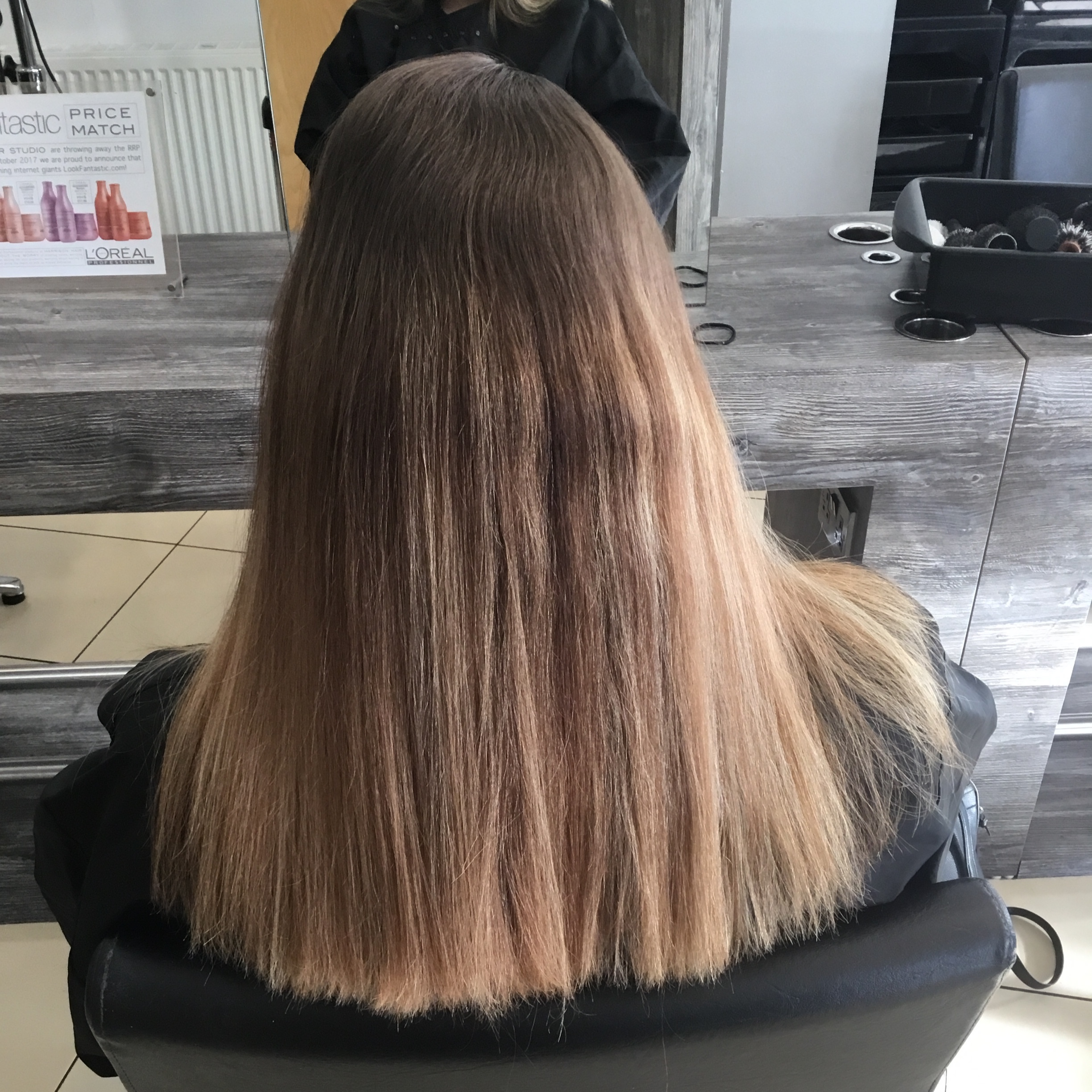 Balyage to Blonde