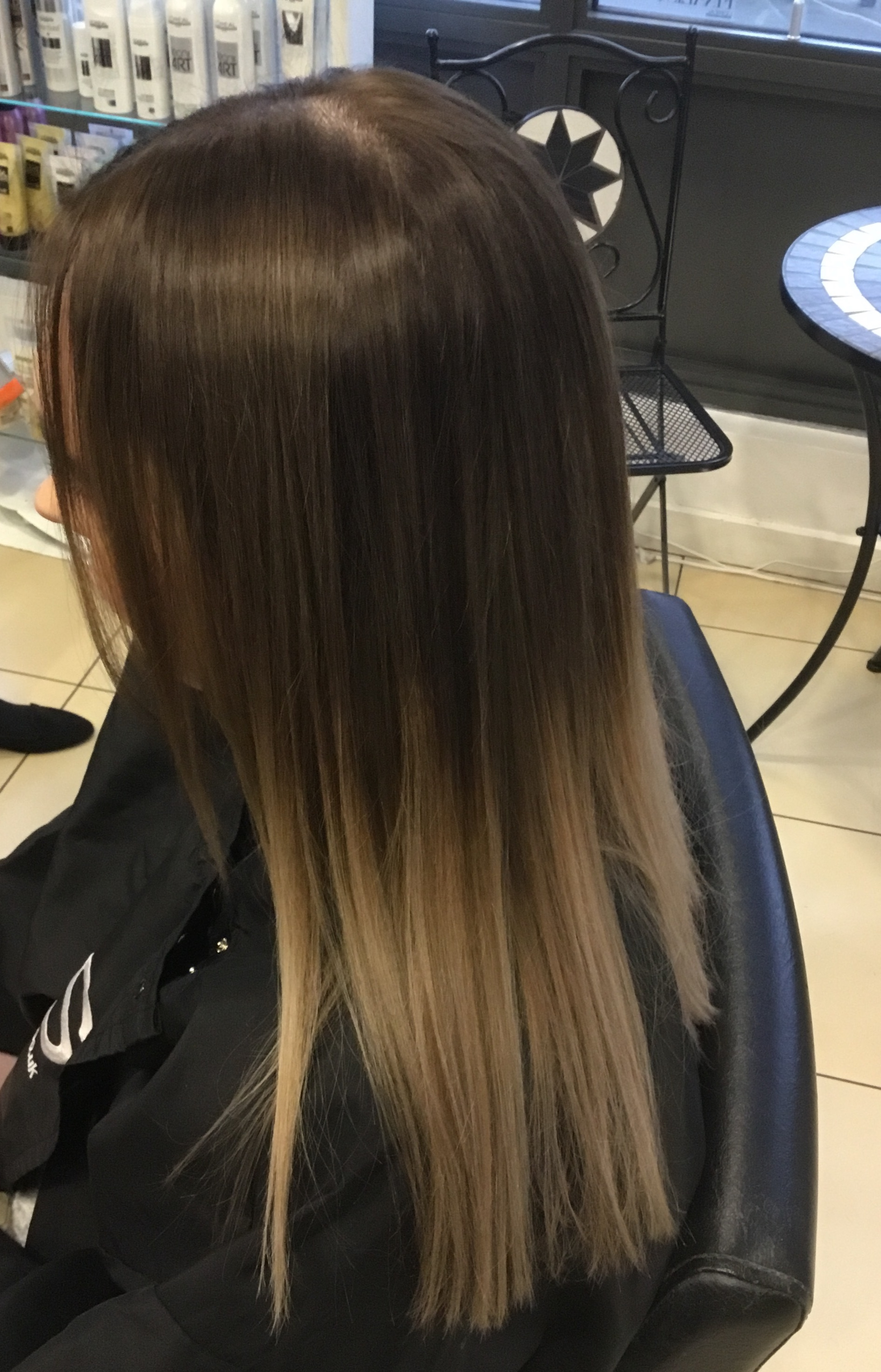 Balyage colour Correction