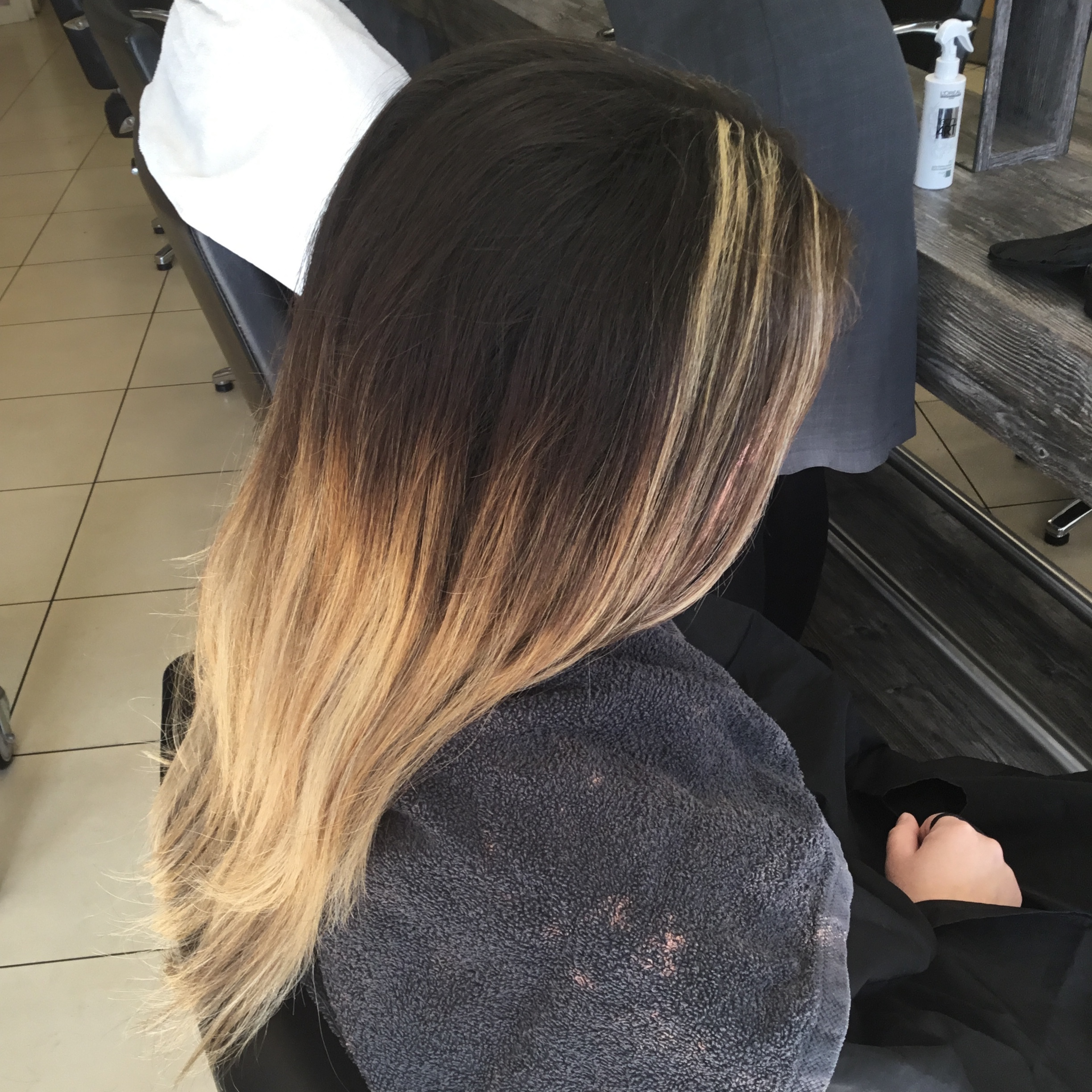 Balayage Correction