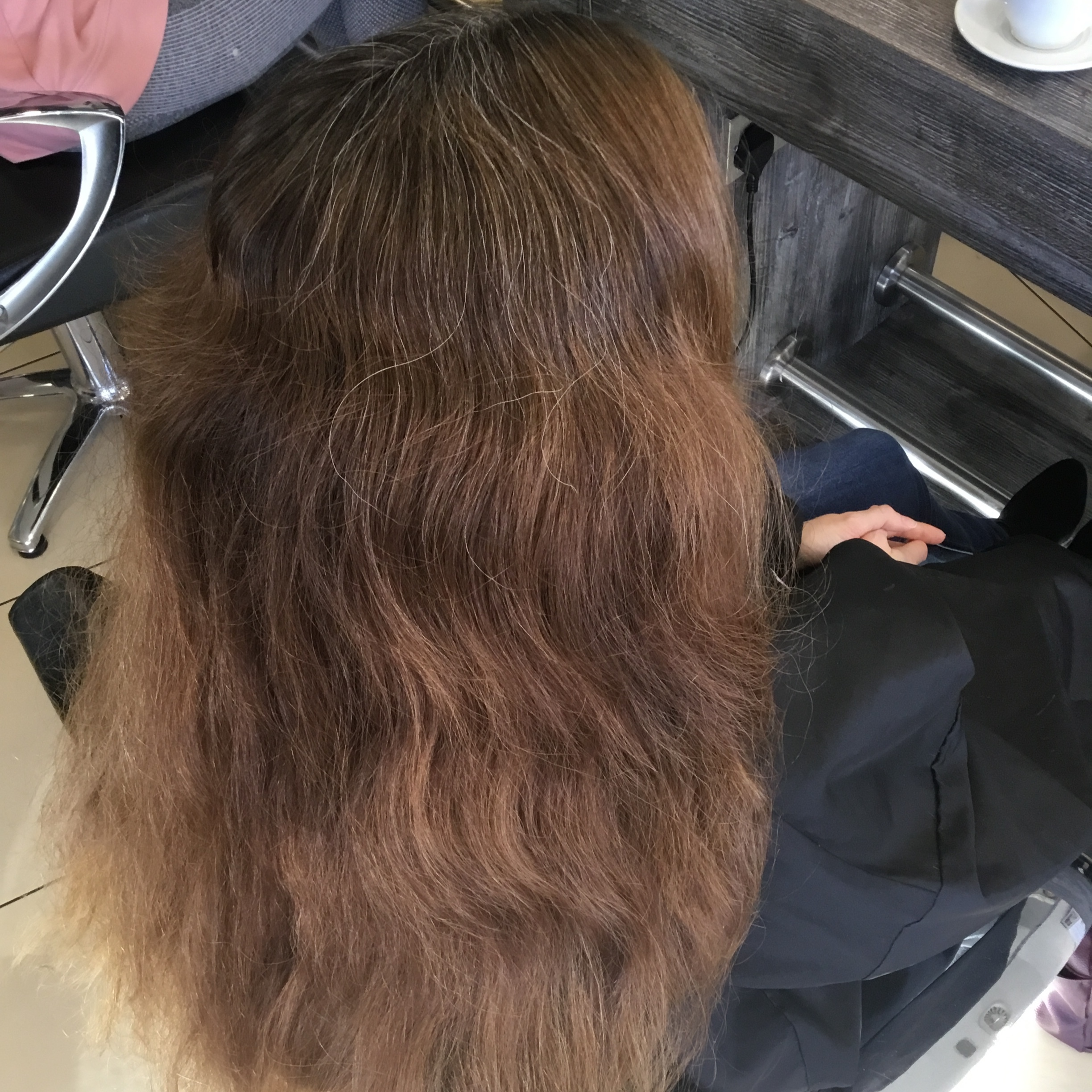 Full Colour Change on Virgin Hair