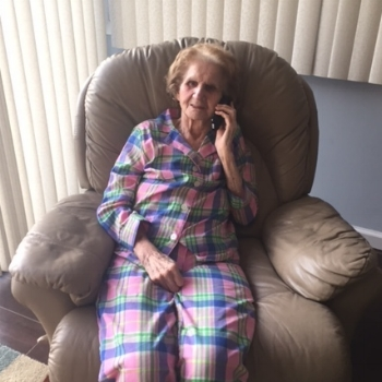 Gram, on the phone with the author