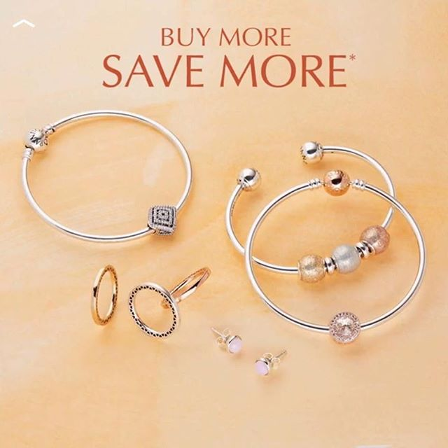 Lucky You! A second chance to take advantage of Pandora's Buy More, SAVE MORE Event! It has been extended in Florida! Thru Sunday September 24th save up to 35% on your favorite PANDORA styles. For a limited time, the more you buy, the more you save!