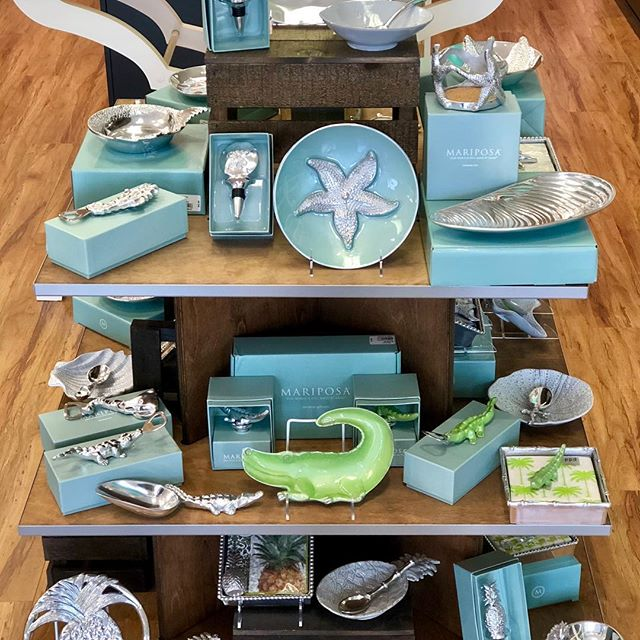 New Mariposa has arrived! Just in time for all your Bridal Shower, Wedding and Graduation gifts  and of course something New for You! #mariposa #wedding