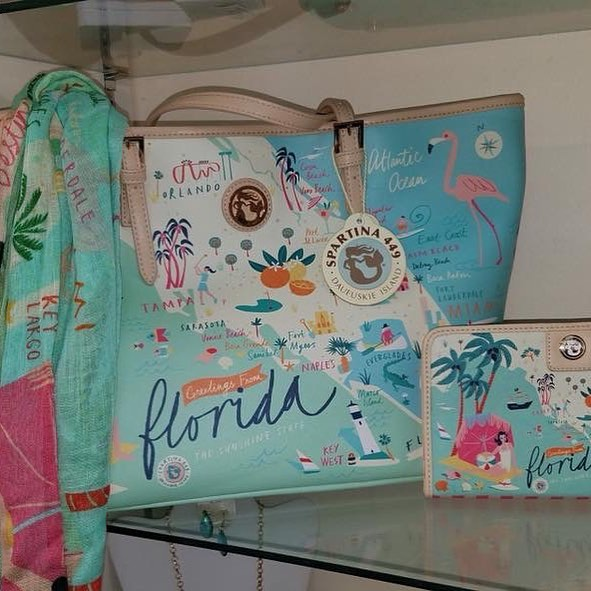 The Spartina 449 Florida Tote Bags are back in stock! Get yours today because these won't last!