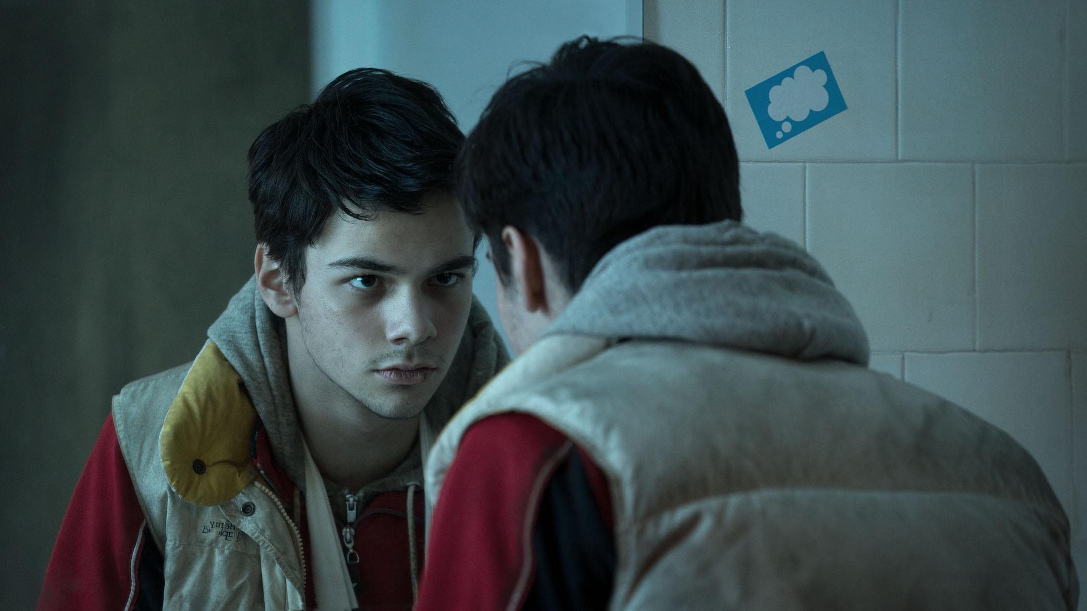 Bogdan Iancu in IN BLUE directed by Jaap van Heusden.DoP Melle van Essen.Courtesy IJswater Films/Caviar Content