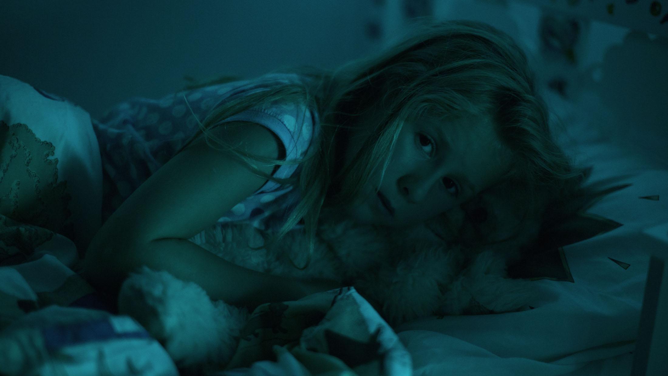 Esra Vandenbussche in LE CIEL FLAMAND directed by Peter Monsaert - DoP David Williams. Courtesy LUNANIME