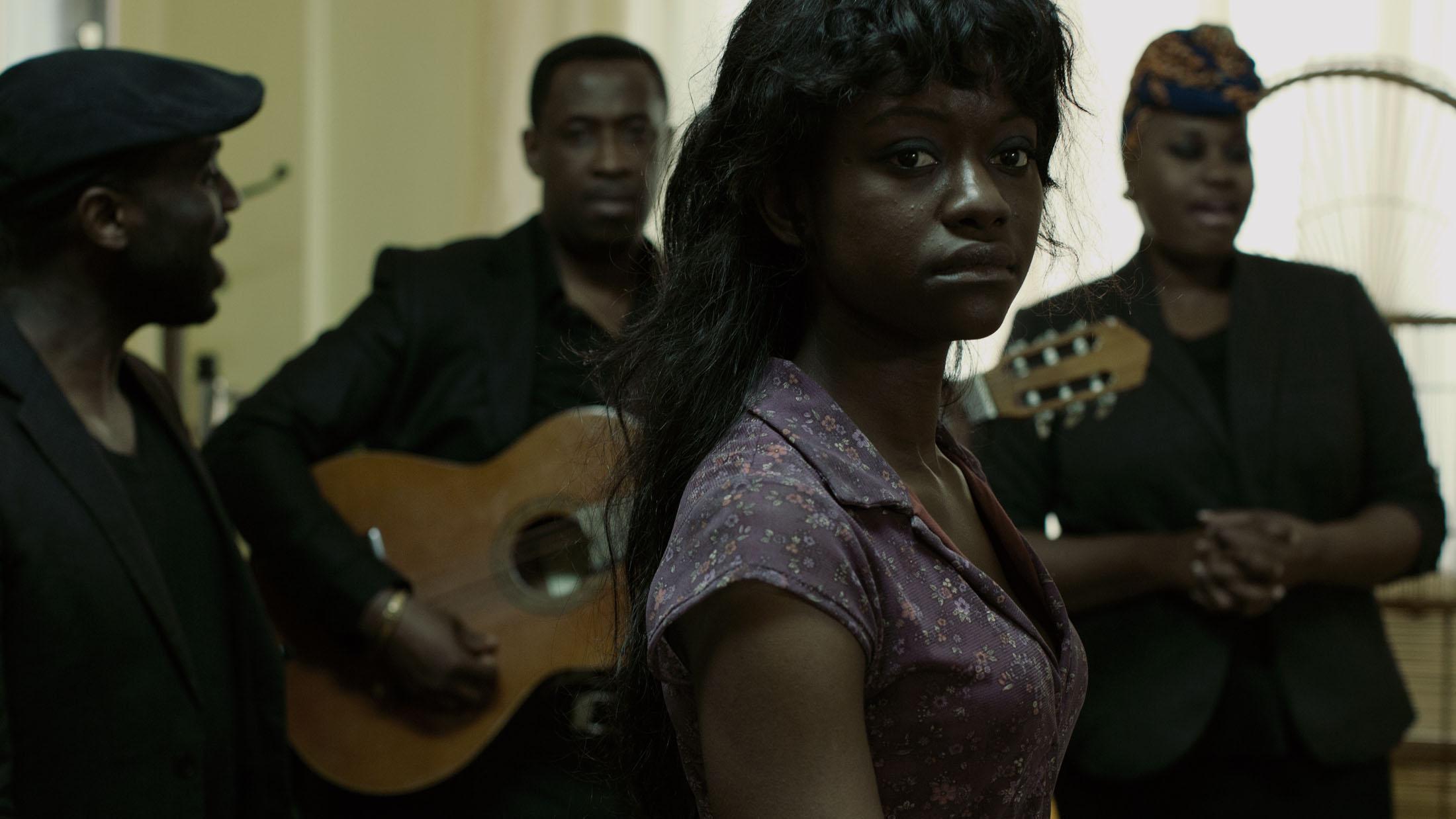 Babetida Sadjo in WASTE LAND directed by Pieter Van Hees - DoP Menno Mans. Courtesy Epidemic