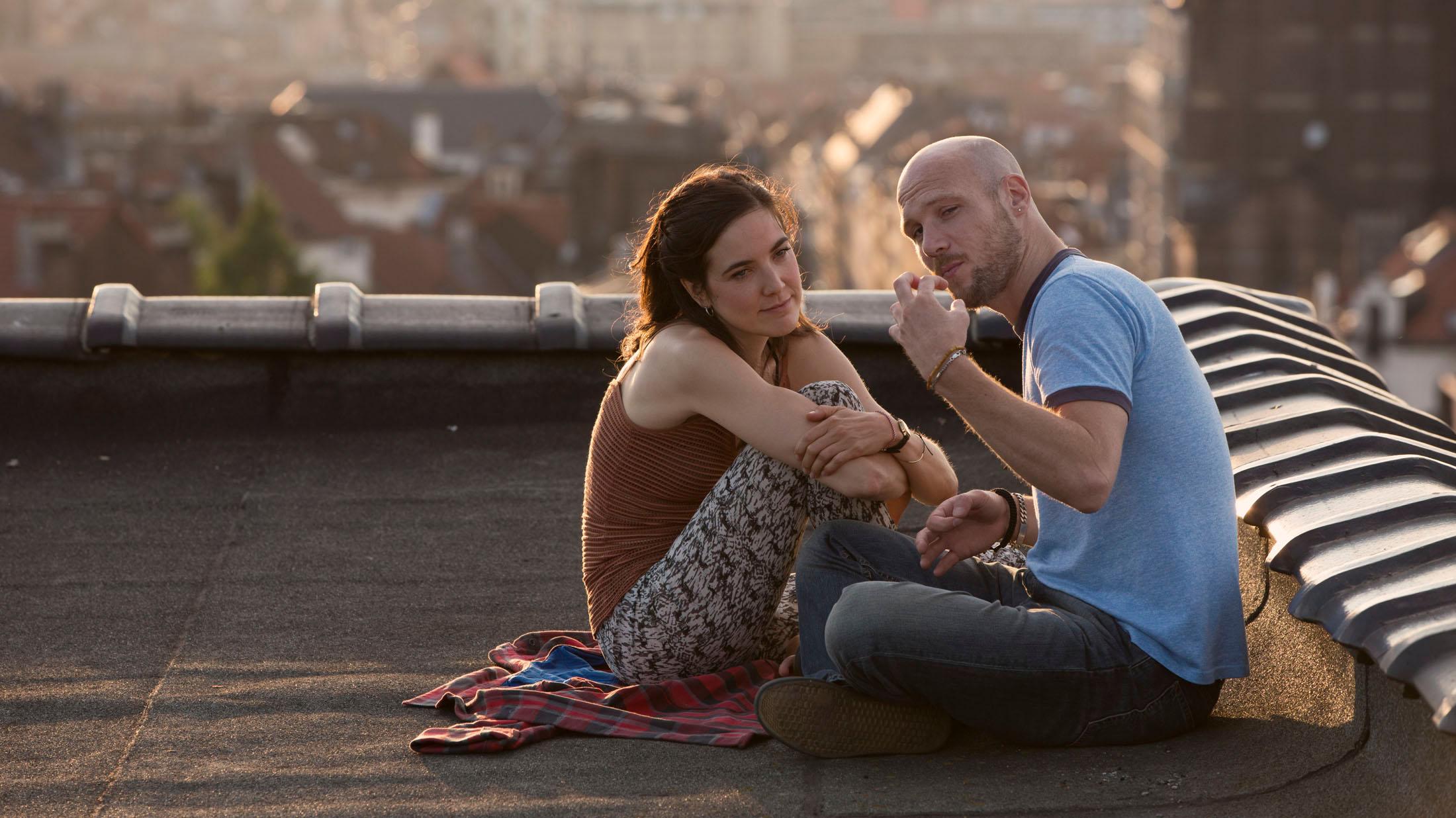Jeroen Perceval & Wine Dierickx in PLAN BART directed by Roel Mondelaers - DoP Philip van Volsem. Courtesy Caviar Films