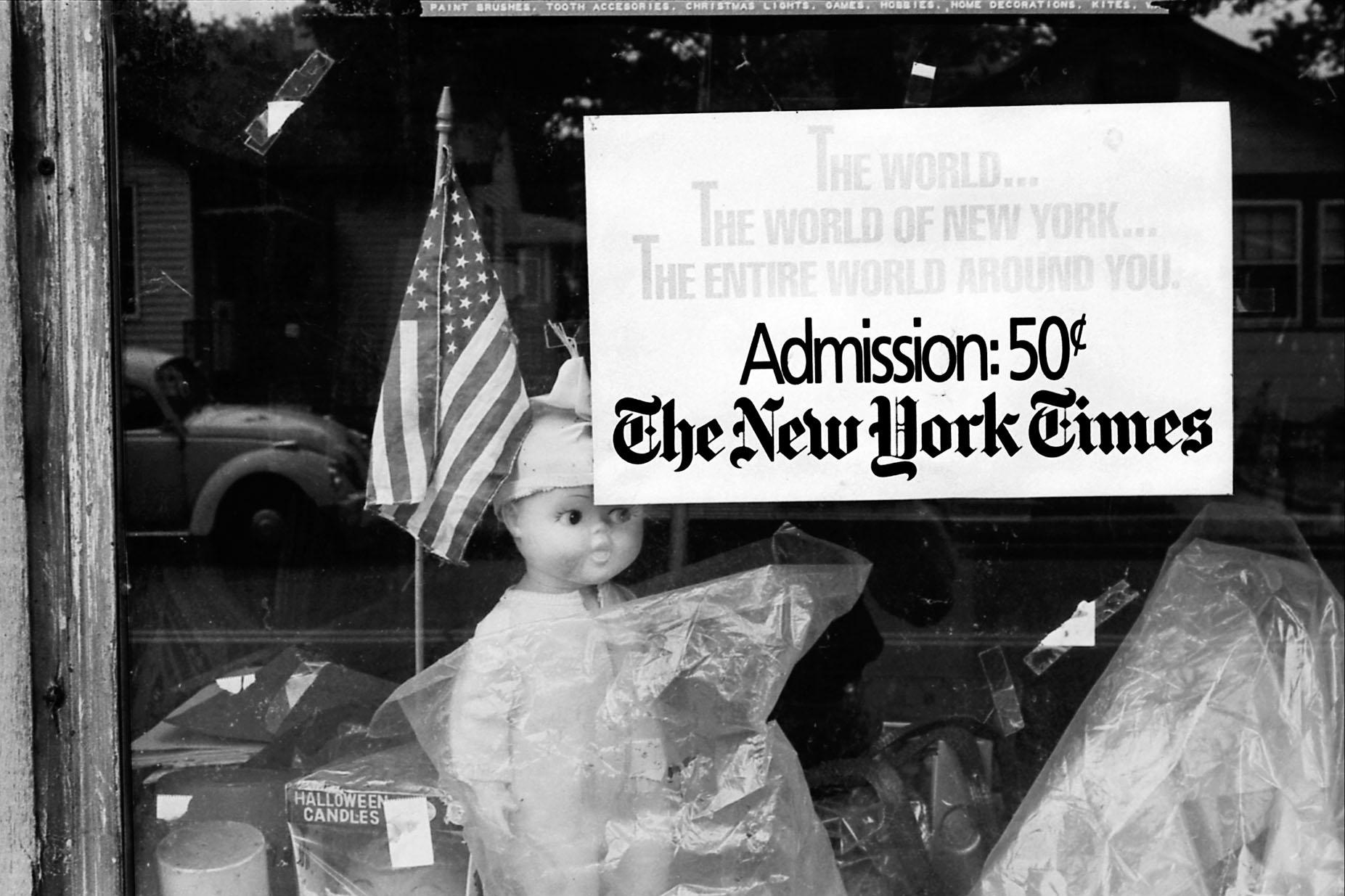 Shop window, Dumont, NJ