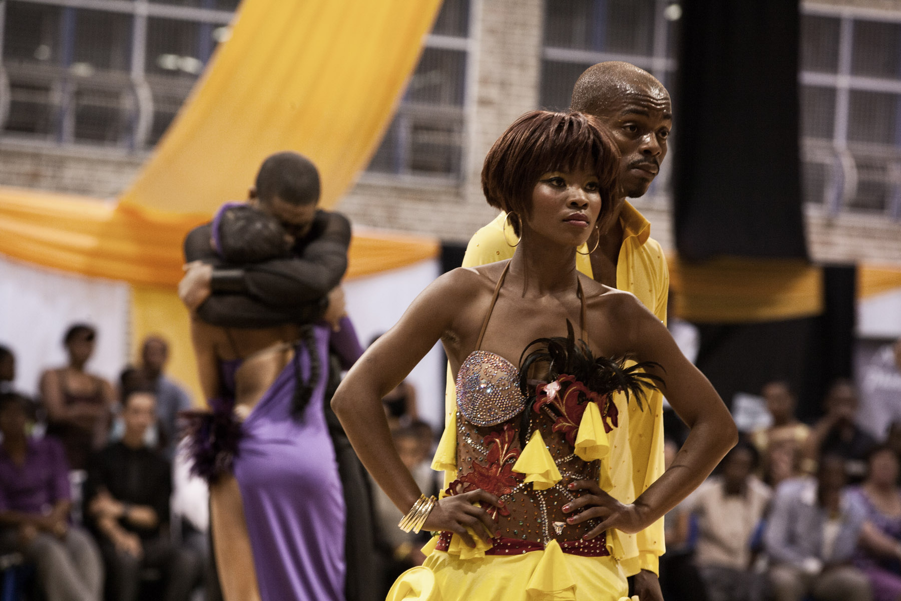Ballroom of Broken Dreams. Dance competition, Rocklands (Free State, RSA)