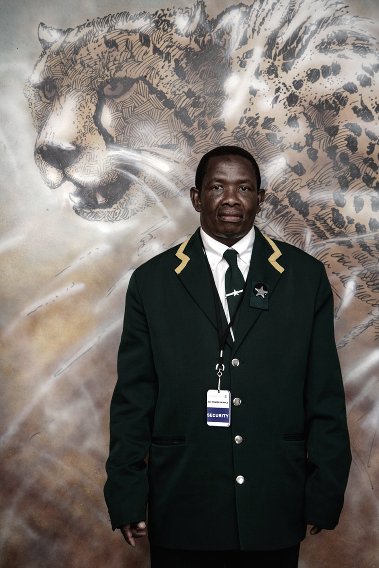 Guard, Vodacom Stadium, Bloemfontein