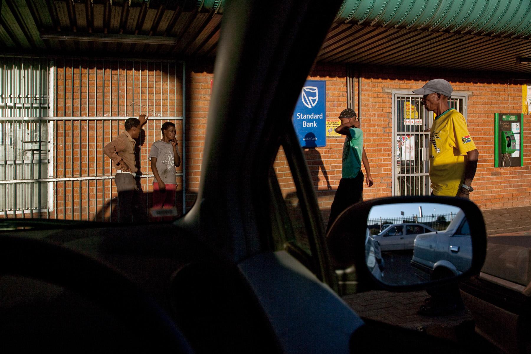 Hi-Way Shop parking lot, Bloemfontein (Free State, RSA)