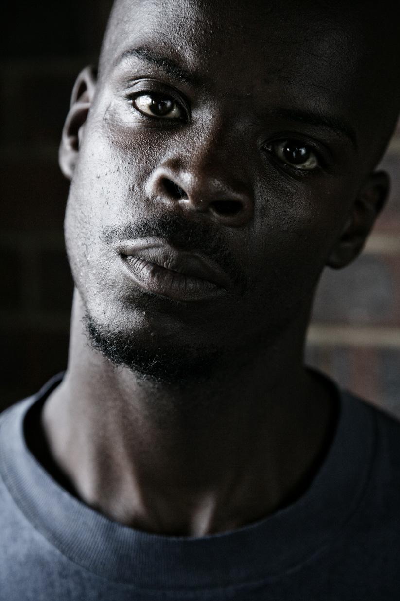 Aaron, dancer, Orlando East/Soweto.