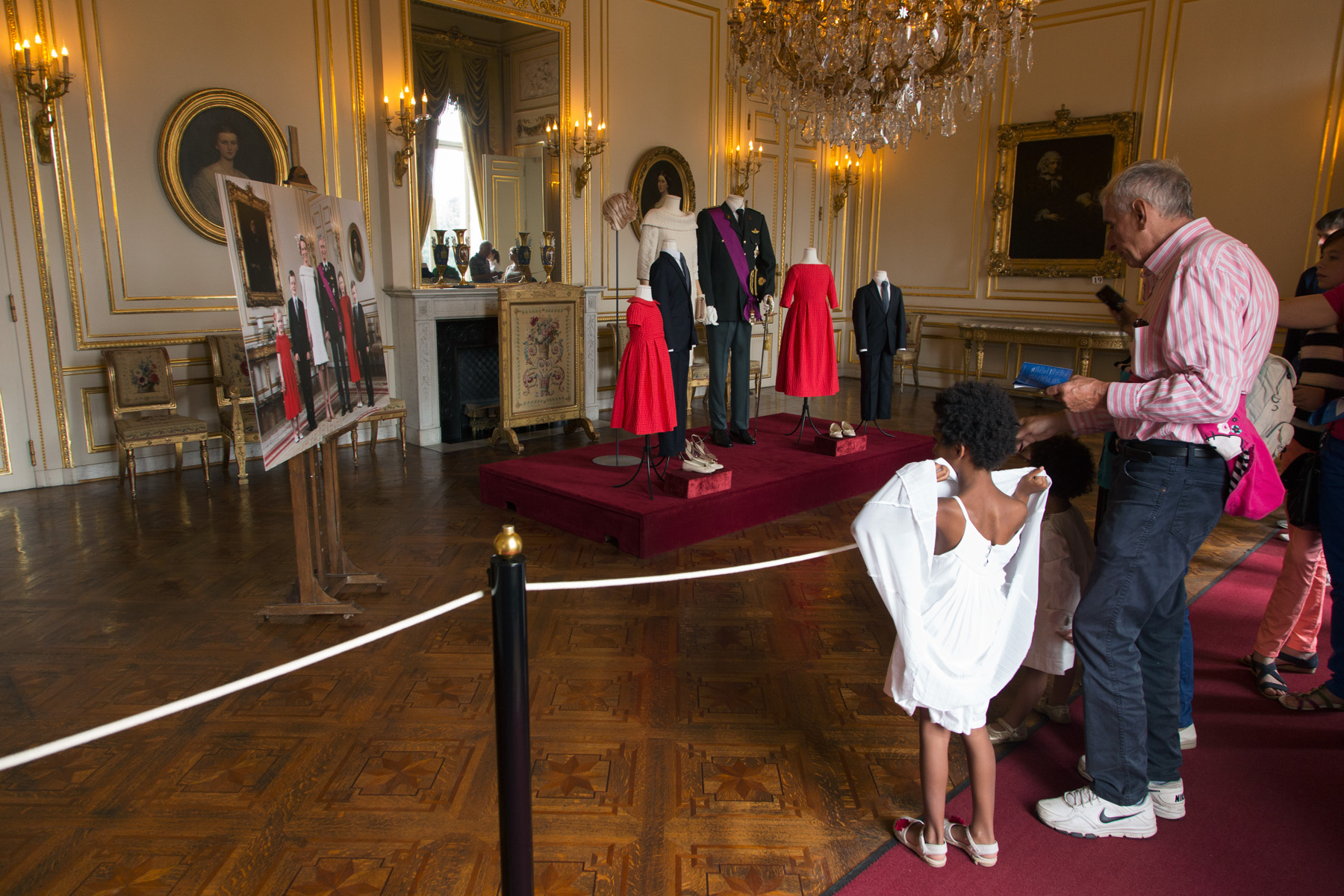 The Royal Palace Dress Code