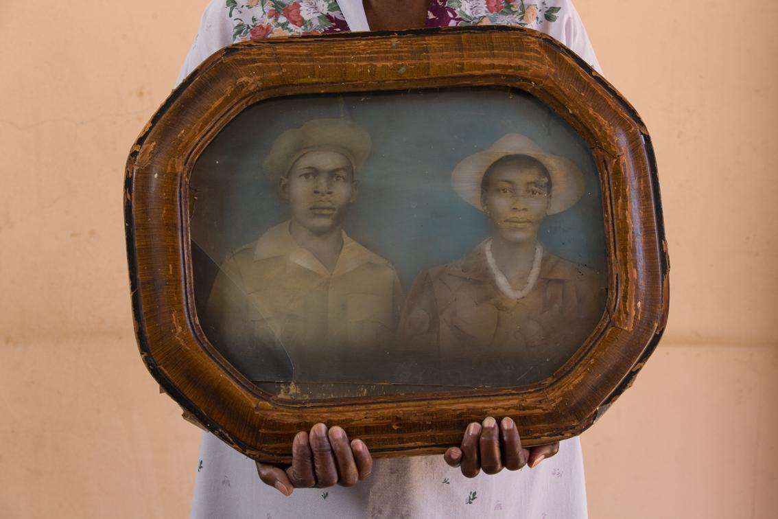 Zacharia Majawetsa and Anne Chopie, ca. 1930.
