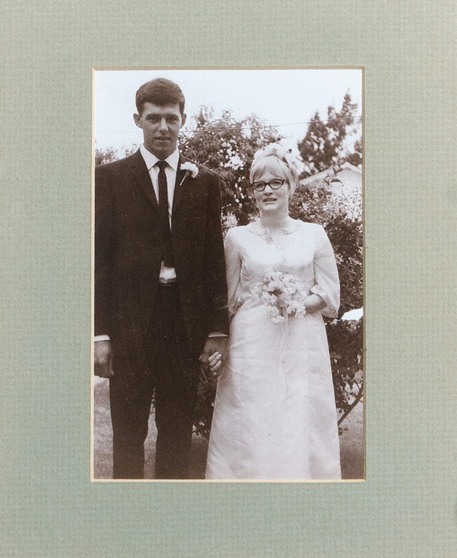 The wedding portrait of Joseph Johannes Greyling and Barbara Prior (1967)