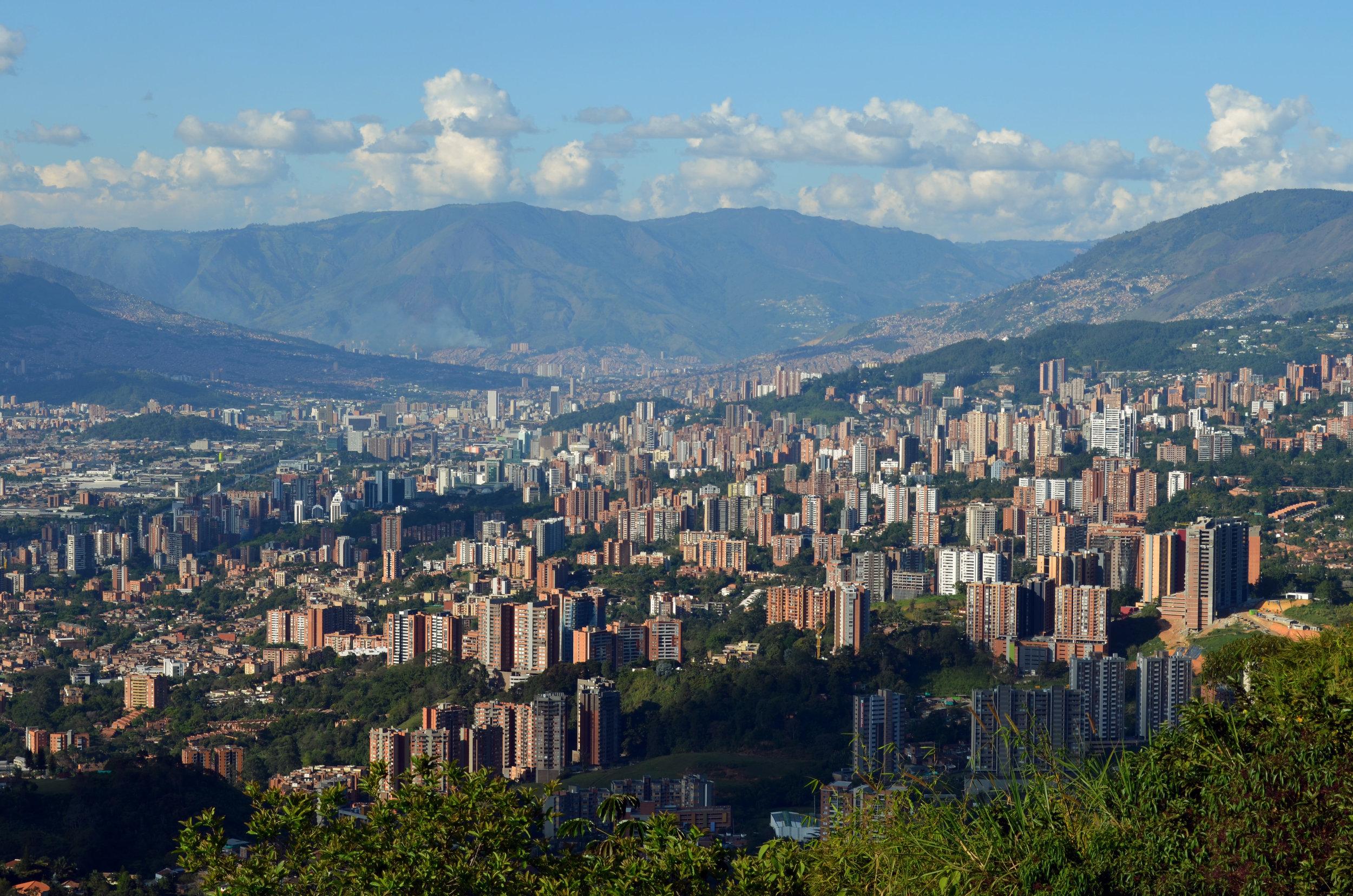 Medellín, Envigado, and the Valle de Aburrá