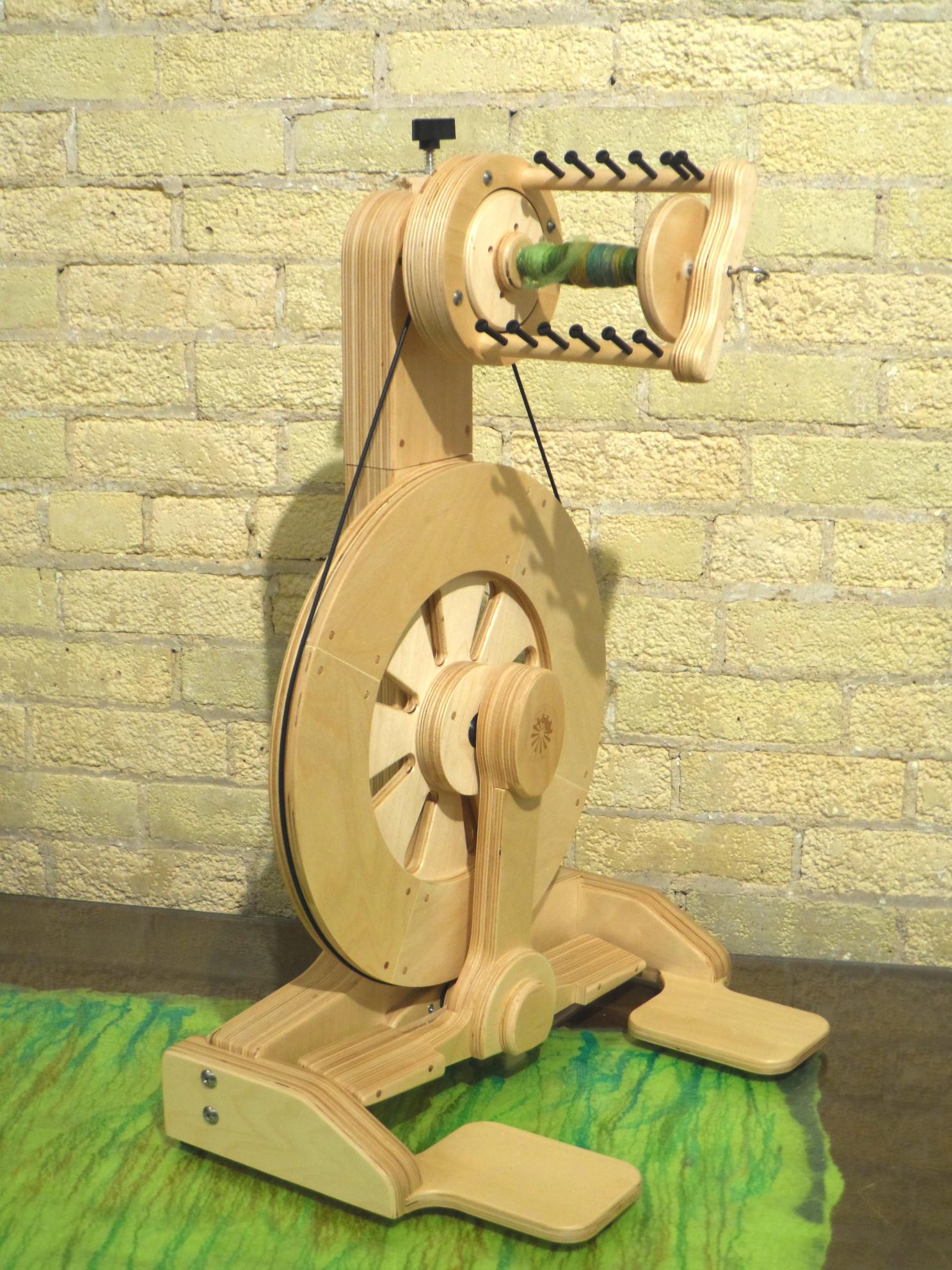 Echo Spinning wheel from Spinolution