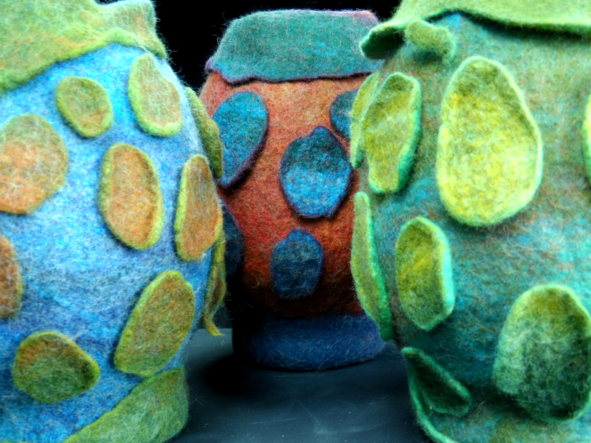 Felting Portfolio of Peter McMasters