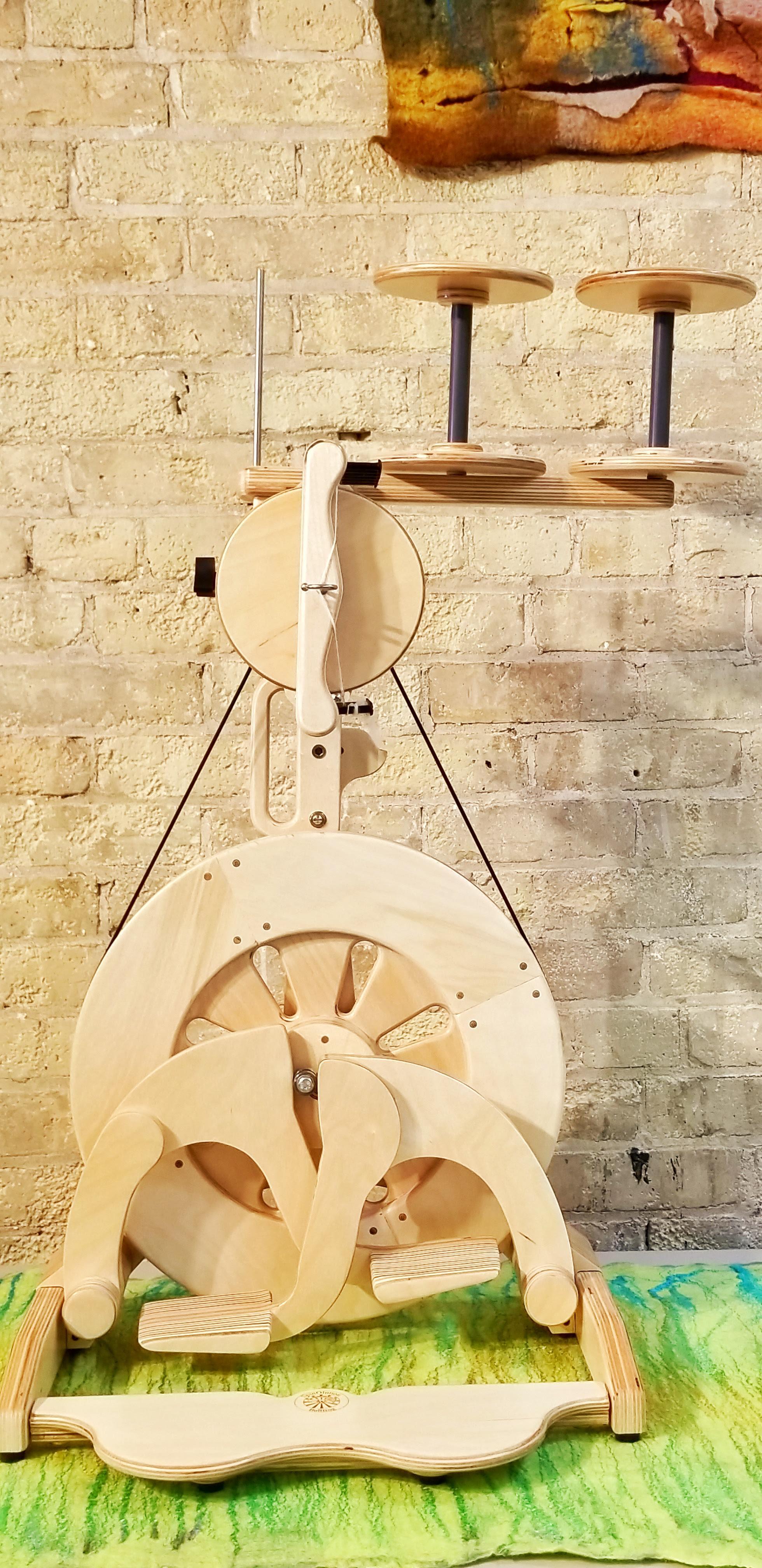 Bullfrog Folding Spinning Wheel from Spinolution