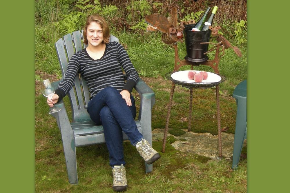 DECEMBER 2011:   Bug Wine Bucket Holder