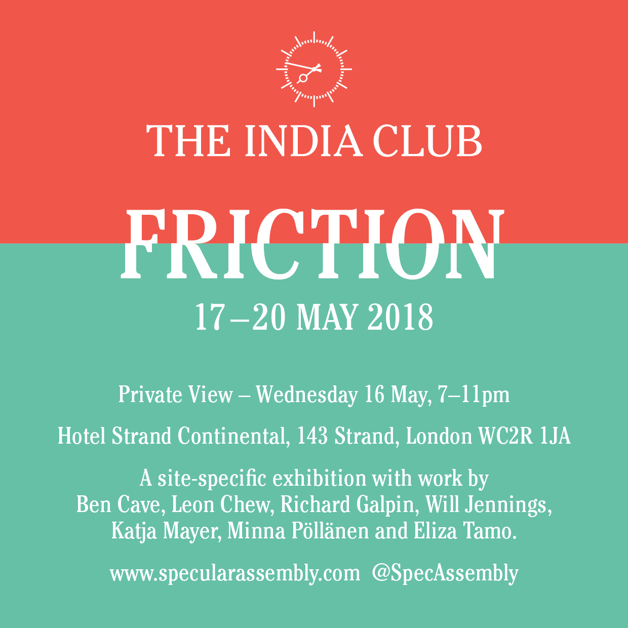 The India Club 'Friction'