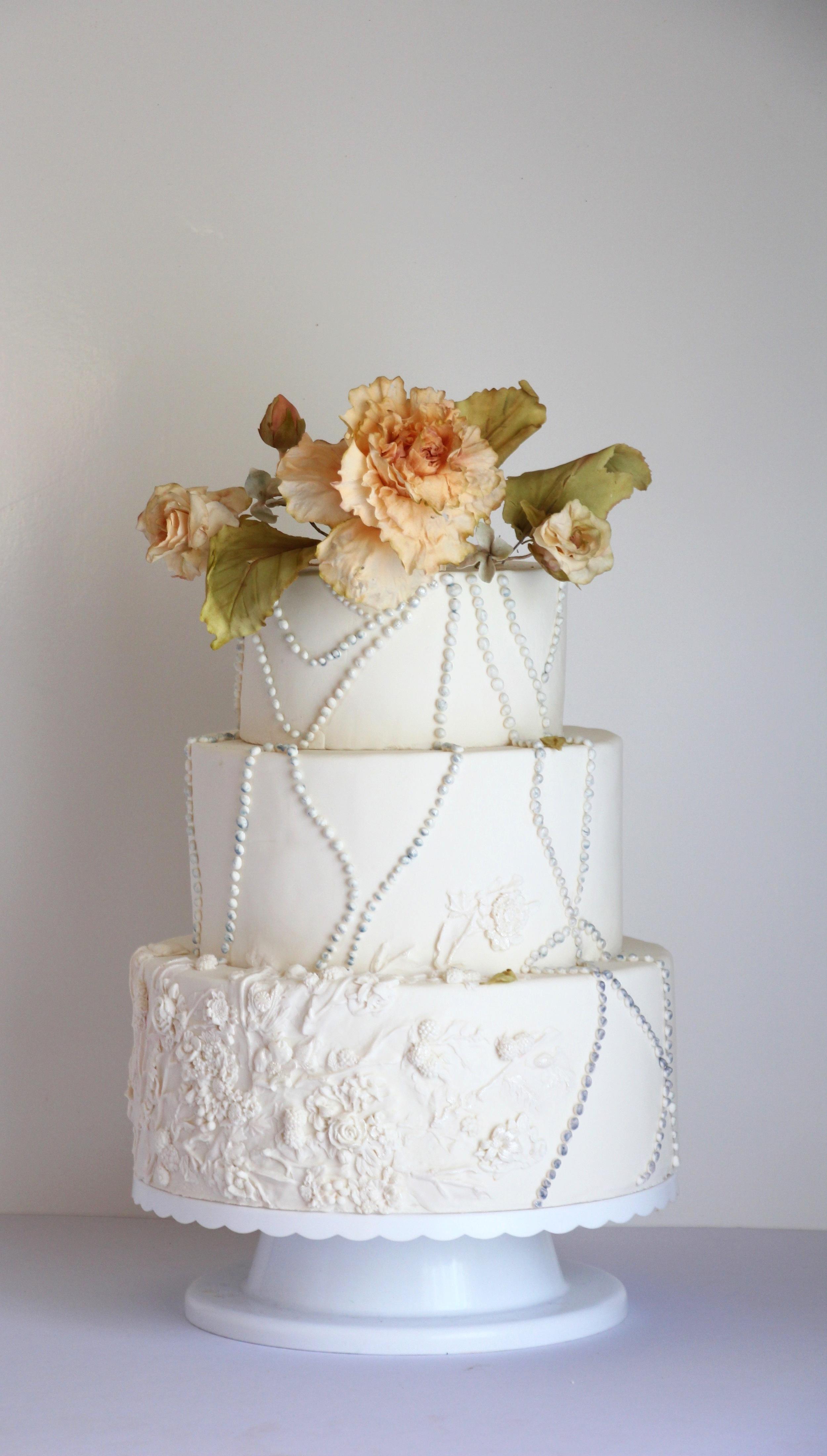 wedding cake trinidad and tobago, by jaime gerard cake