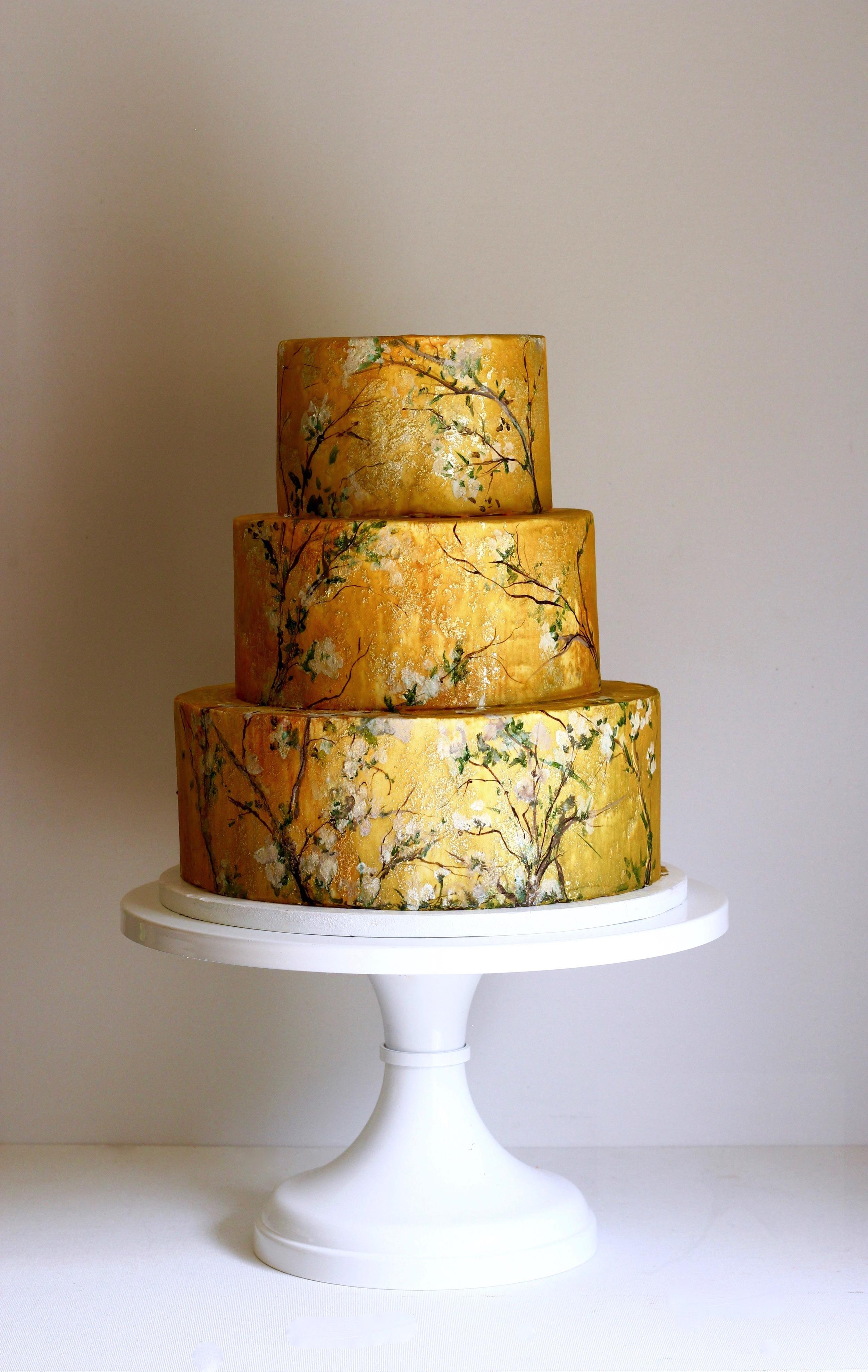 gold wedding cake trinidad and tobago jaime gerard cake