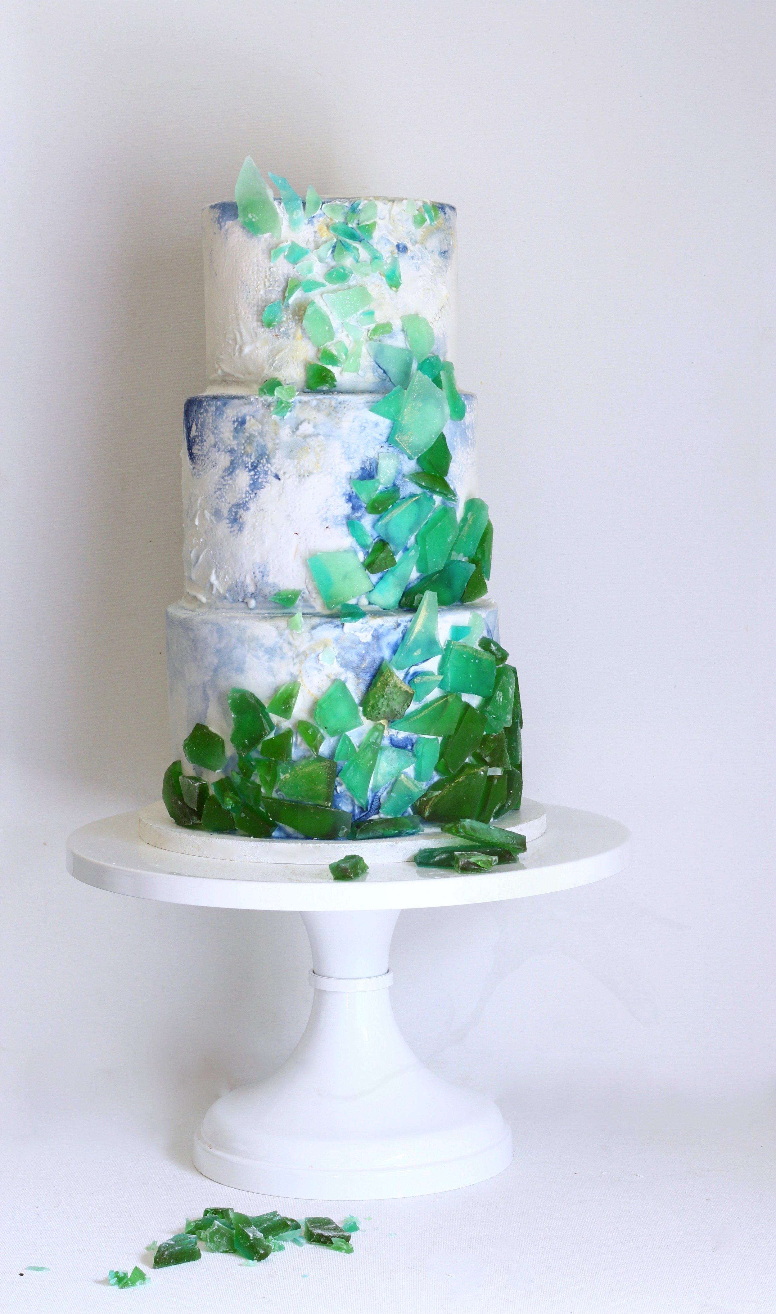 sea glass cake by jaime gerard cake.jpg