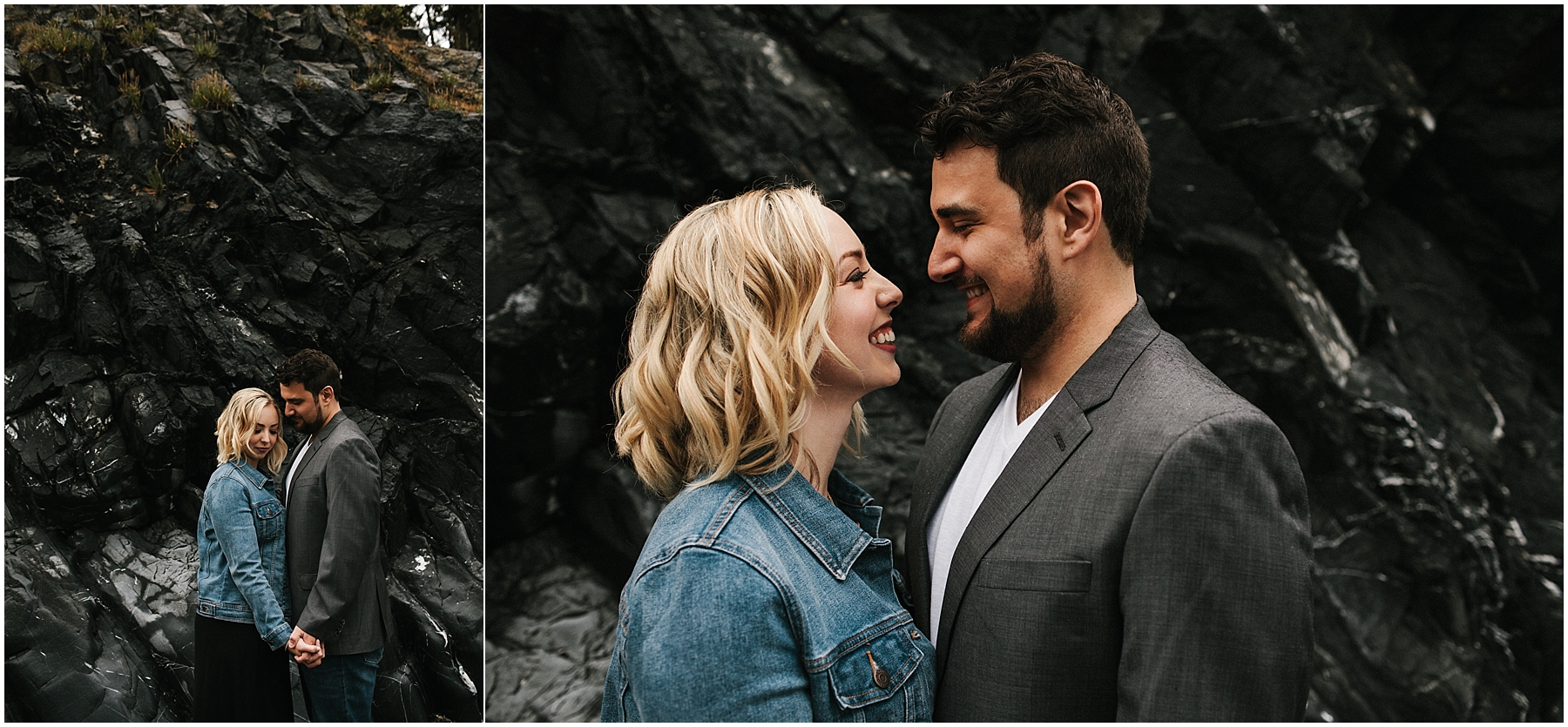 Seattle Engagement Photos Hair and Makeup