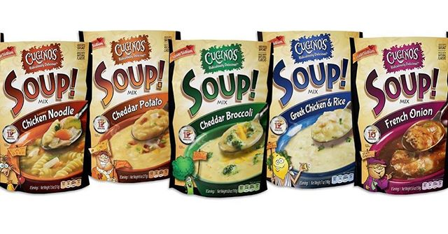 Soup Season is coming up! Cugino's is ready with our fresh look and delicious taste!  #delicious #drysoupmix  #freshlook  #betteringredients  #homemadetaste  #soupseason