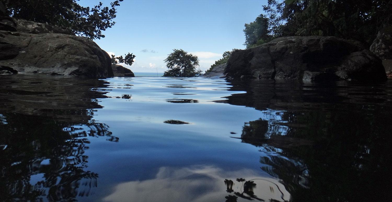 Rainforest Inn Hike Espiritu Santo Waterfall Natural Pool