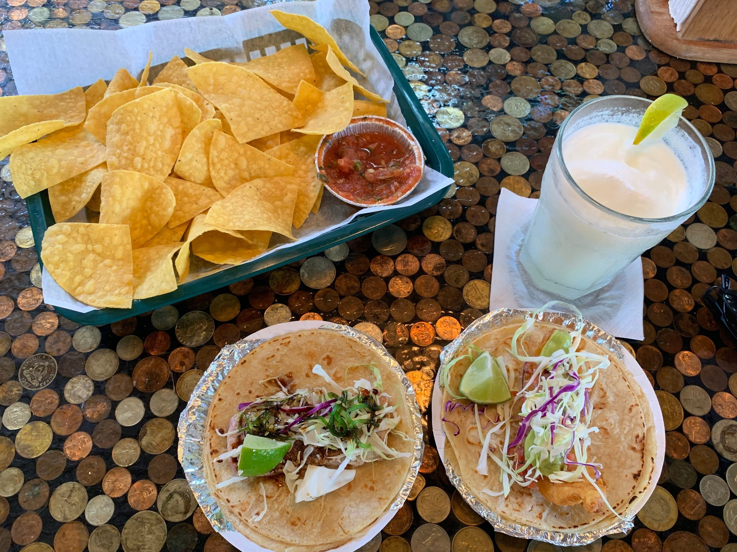I enjoyed a delicious meal at Zaco's Tacos, where I was informed about the difference between a good landing and a great landing on the Culebra runway.